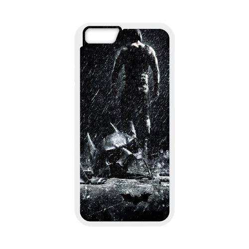 Bane The Dark Knight Rises coque iPhone 6 Plus 5.5 Inch Housse Blanc téléphone portable couverture de cas coque EBDOBCKCO10337