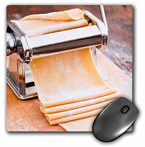 3dRose Pasta machine with dough, South Africa. - Mouse Pad, 8 by 8 inches (mp_208065_1)