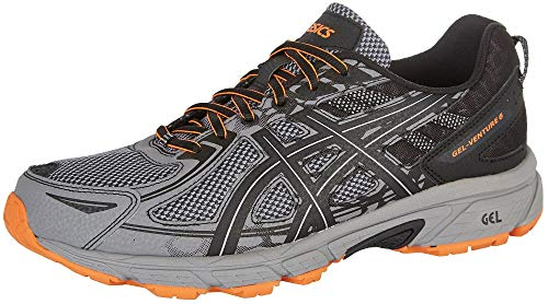 Asics Runners Gel (ASICS Mens Gel-Venture 6 Running Shoe, Frost Grey/Phantom/Black, 10.5 D(M) US)