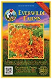 Everwilde Farms - 80 Butterfly Weed Native Wildflower Seeds - Gold Vault Jumbo Seed Packet