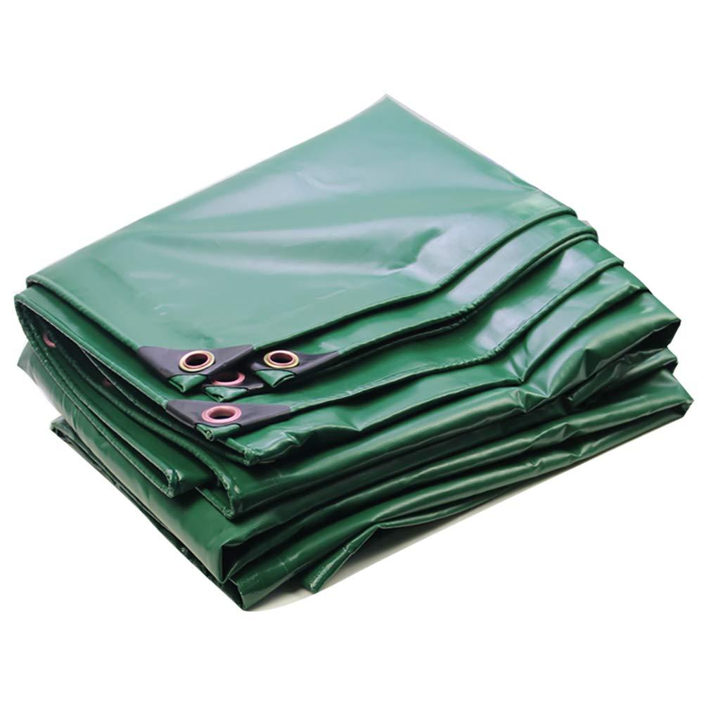 Plane leichte weiche tragbare regendicht Tuch Auto Canvas Wasserdichte Sonnencreme Regen Canvas Truck Abdeckung (grün)