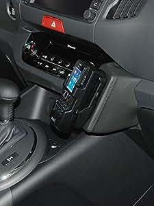 KUDA 043385 - Soporte (GPS, Teléfono móvil/smartphone, Pasivo, Coche) Negro