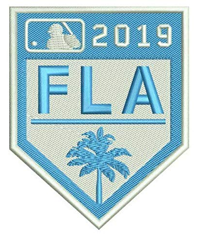 Elusive Dream Marketing Services 2019 Spring Training Patch Florida Grapefruit League Baseball Embroidered Sleeve Style