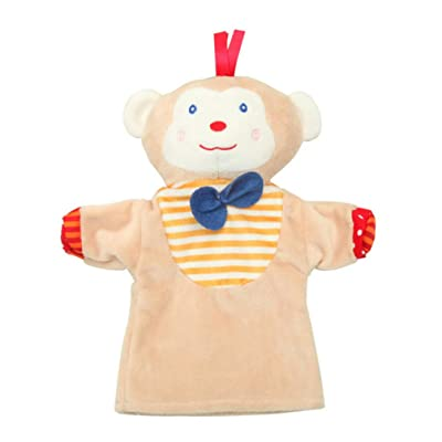 Toyvian Hand Puppet Cartoon Animal Hand Puppet Child Birthday Present Party Favor for Girls Boys Toddler: Toys & Games
