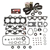 Evergreen HSTBK4026 Head Gasket Set Timing Belt Kit 88-91 Honda Civic 1.5 D15B1 D15B2 D15B6 D15B7