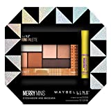 Maybelline New York Merry Minis Eyeshadow and Mascara Gift Set, Rooftop Bronzes