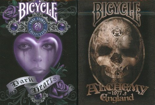 Bicycle Alchemy & Anne Stokes V2 Playing Cards 2 Deck Set