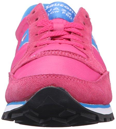 Saucony Originals Damen Jazz Low Pro Sneaker Pink Blau