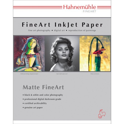 "Hahnemuhle William Turner 310gsm Deckle Edge 8.5"" x 11"" - 25 sheets"