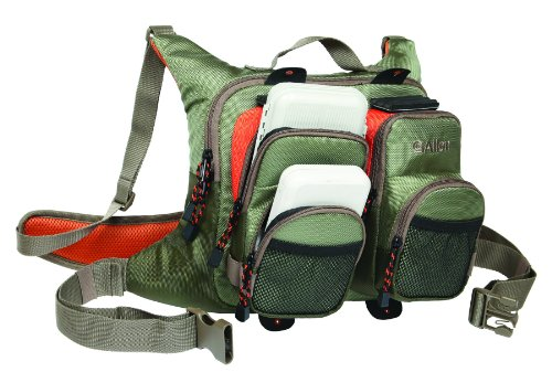 Allen Company Black River Fishing Chest Pack/Fanny Pack, Outdoor Stuffs