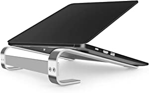 "Laptop Stand, Detachable Laptop Riser,Laptop Holder Compatible for MacBook, HP Laptop and so on Between 11"" to 17.3"" (Silver)"