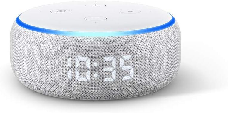 Newモデル Echo Dot 第3世代 - スマートスピーカー時計付き with Alexa、サンドストーン + Amazon Music Unlimited (個人プラン4か月分 *以降自動更新)