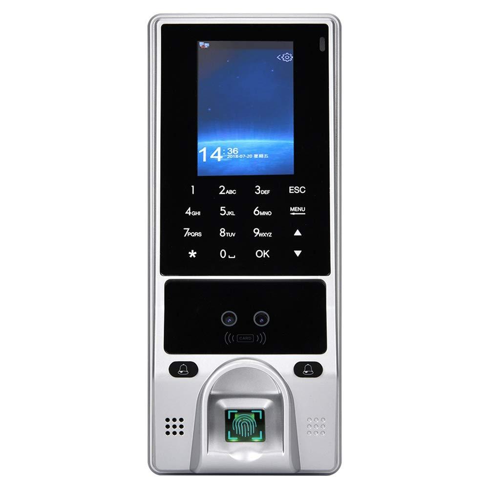 指紋出席機 アクセス管理システム 指紋認証 オフィス 従業員管理 従業員チェックICカード アクセス管理の出席システム   B07QY9Y7T8