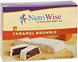 NutriWise - Caramel Brownie Diet Protein Bars (7 bars) by NutriWise