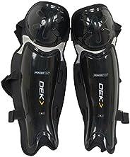 Power-tek V5.0 Dek/ball Hockey Shin Pads Unisex Style : 90200202