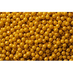 Sweetworks Candy Pearls Shimmer, Gold, 2 Pound