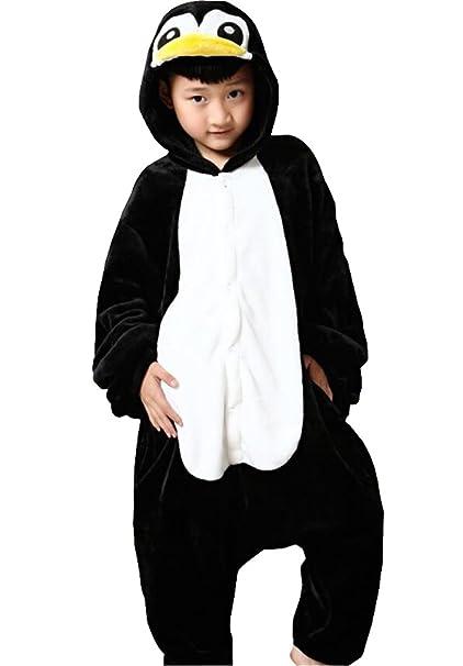 Amazon.com: Pingüino pijama para niños, dibujos animados ...