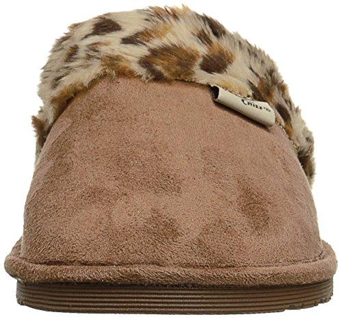 Slip Plush Women Slipper Cheetah Western Outdoor Comfort On Chief U1vSwqxtn