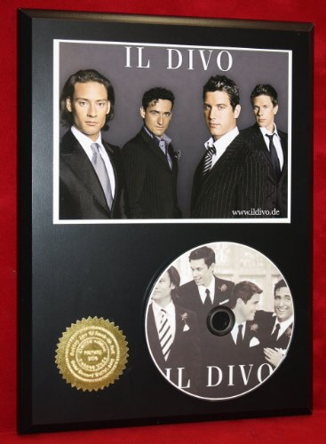 Il Divo Limited Edition Picture Disc CD Collectible Music - Outlet Il