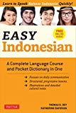 Easy Indonesian: A Complete Language Course and Pocket Dictionary in One - Free Companion Online Audio (Easy Language Series)
