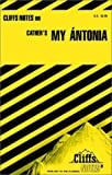 img - for Notes on Cather's My Antonia (Cliffs notes) by Mildred R. Bennett (1962-10-06) book / textbook / text book