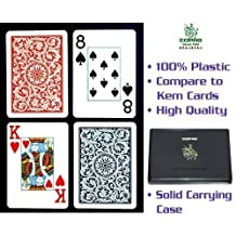 Copag cards 100% plastic- 2 deck set-up