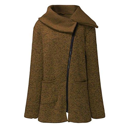 clair Outwear Caf Sweatshirt Long Casual Grande Chemisiers Sport Veste Manteau Capuche Kolylong Manteaux Fermeture Taille Femme Hiver 6wAvFqvR
