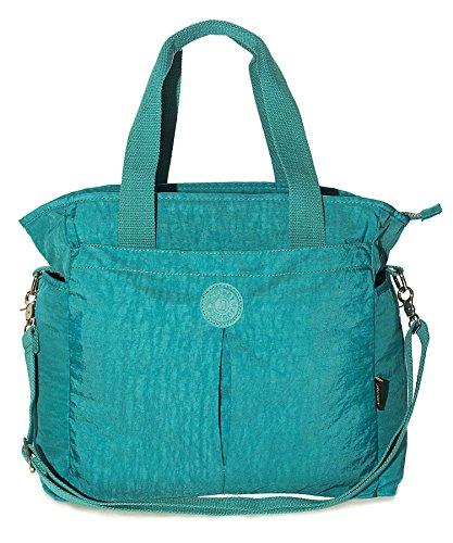 Size Brown Hanbag Fabric Tote Shop Multipocket Bag Rainproof Shoulder Top Big Shopping Natural Handle Lightweight XL Oq1wUZHZ