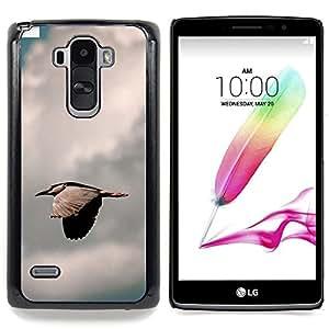 "Qstar Arte & diseño plástico duro Fundas Cover Cubre Hard Case Cover para LG G4 Stylus H540 (Pájaro rápida"")"