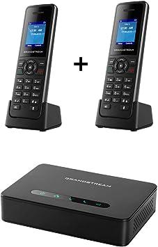 Grandstream dp750 estación base DECT de largo alcance + DP720 2-units DECT HD teléfono: Amazon.es: Electrónica