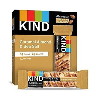 KIND Caramel Almond & Sea Salt, 8.4 Oz (Pack Of 6)