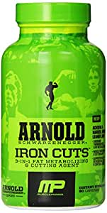 Muscle Pharm Arnold Schwarzenegger Series Iron Cuts Fat Metabolizing & Cutting Agent - 90 Capsules