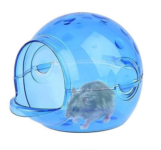 IF.HLMF Hamster para Mascotas Baño Baño Sala De Arena Aseo Pequeño ...