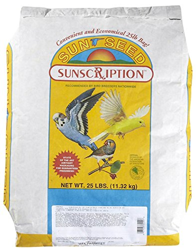 Sun Seed Company Bss30140 Vita Mix Daily Diets For Parakeet, 25-Pound ()