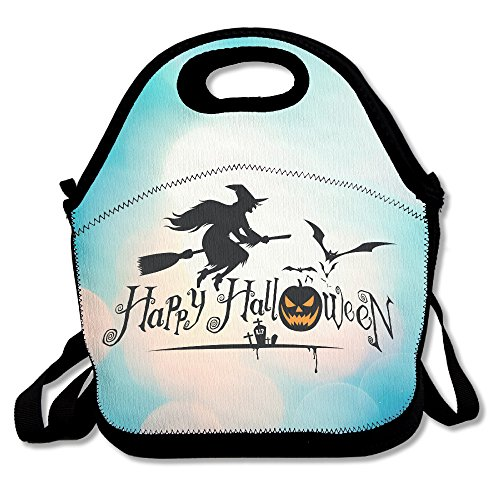 Nintendo Kirby Halloween Costume (Bekey Happy Halloween Event Lunch Tote Bag Lunch Box For Women Adults Kids Girls For Travel School Picnic Grocery Bags)