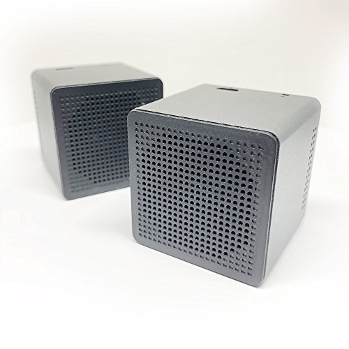 Wireless Bluetooth Speakers True Twin Portable TWS Mini Stereo Mic Dual Big Super Bass Microphone Outdoor Pair Compatible with iPhone Android Samsung Galaxy Nexus MAC PC Echo