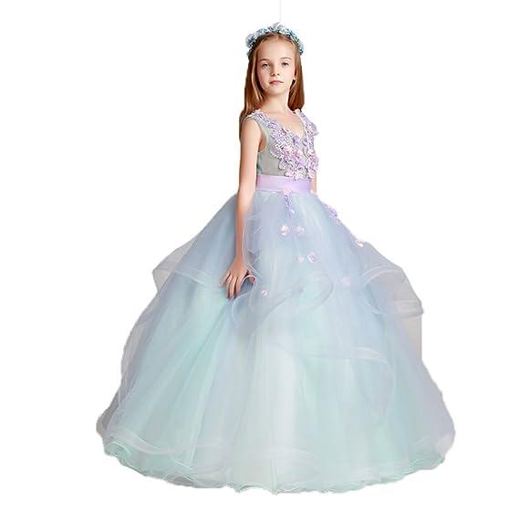 JinXuanYa Cute Lace Girl Party Bridesmaid Evening Dress Wedding ...
