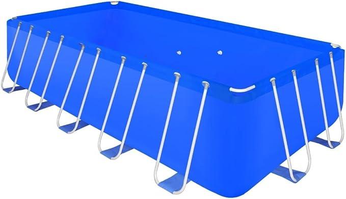 vidaXL Piscina Desmontable con Escalera Acero 540x270x122cm Bañera SPA Jacuzzi: Amazon.es: Hogar