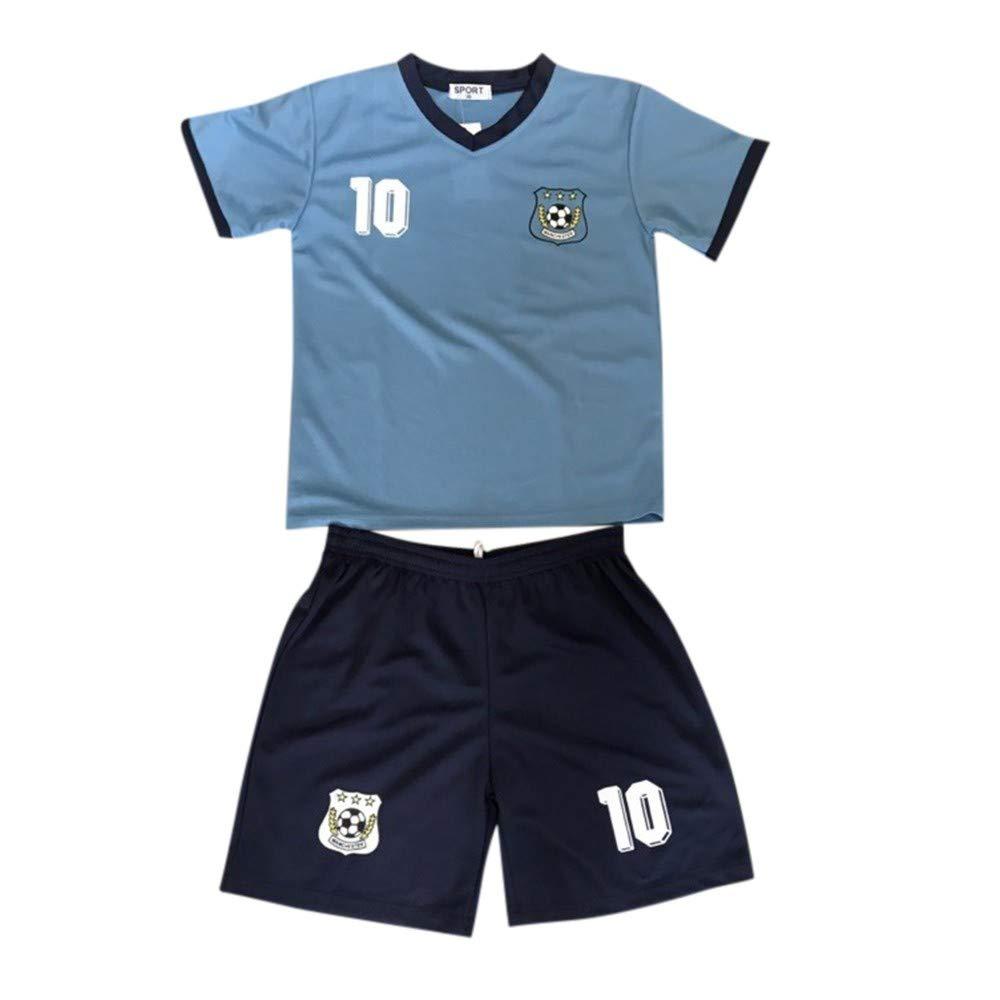 Ensemble Short et Maillot de Foot Manchester City Enfant Taille de 2 à 14 Ans NPZ