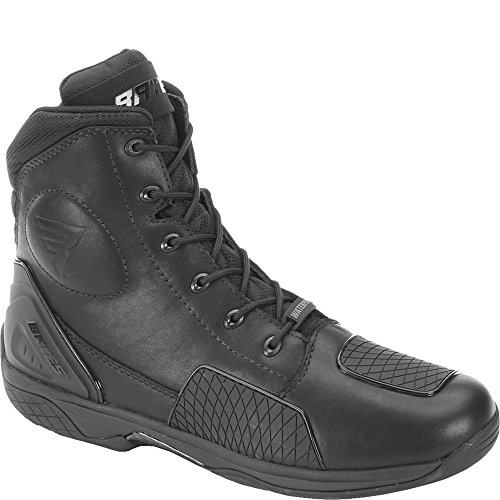 Bates Adrenaline Performance Men's Motorcycle Boots (Black, Size 8.5)