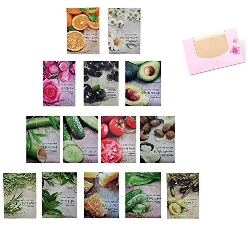 Nature Republic Real Nature Mask Sheet 14pcs Original Korean