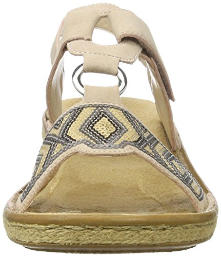 WoMen Sandals Multicolor 31 Heels Rieker Altrosa 62364 Wedge dSwq171