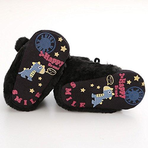 Moresave - botas clásicas Bebé-Niños negro