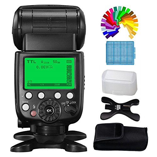 Pixel X800S Wireless Flash Speedlite Speedlight For Sony MI Hot Shoe Mirrorless Digital SLR Cameras ILCE-9 A9 A99 A77 A7 A7R II A7SII A7RII A7II A77II A7RMII ILCE-6500 ILCE-6300 A6000 A6300 by Pixel