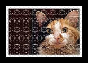 Puzzle Style (preensamblado) Impresión de la pared de Cat by Lisa Loft