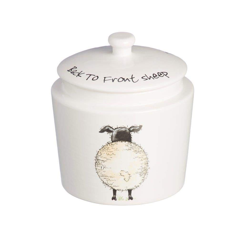 Price And Kensington Madison Porcelain Home Farm Coffee Jar Storage Canisters