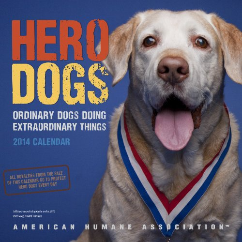 Hero Dogs 2014 Wall Calendar