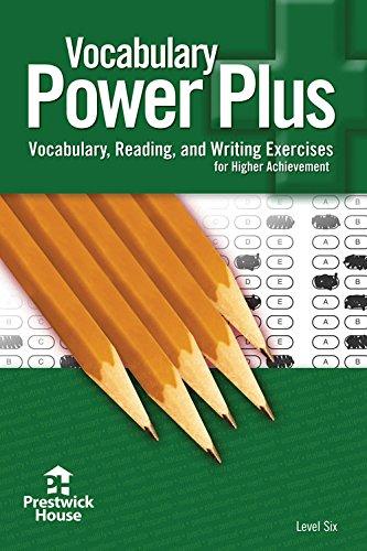 Vocabulary Power Plus Level Six
