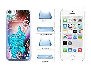 Christmas Themed Let it Snow Clear Plastic Phone Case Back Cover Apple iPhone 5c