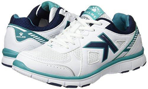 4 white Mujer 0 Para Kelme Flat Seatle Zapatillas Blanco 8xRSCHn